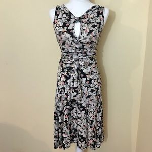Diane Von Furstenburg Silk Floral Wrap Dress